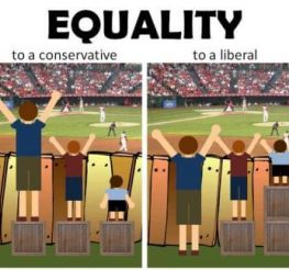 Difference between a Liberal and a Conservative
