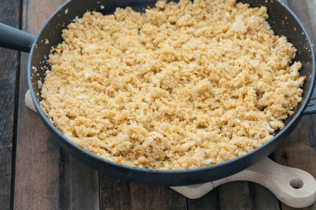 dish of couscous