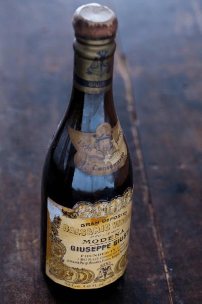 Traditional balsamic vinegar