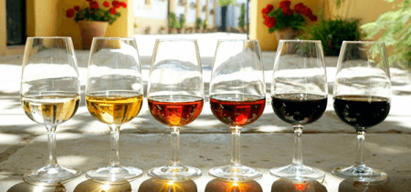 Types of sherry