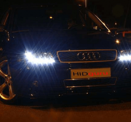 Difference between HID and Xenon