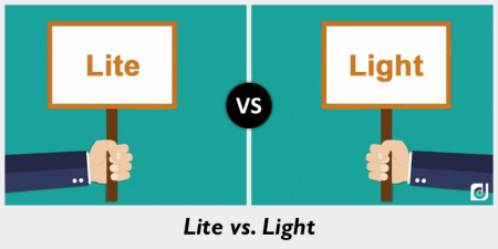 Lite and light side to side