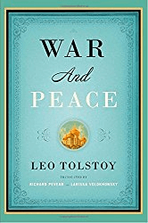"""War and Peace"" (by Leo Tolstoy):"