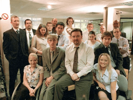 "UK version of ""The Office"""
