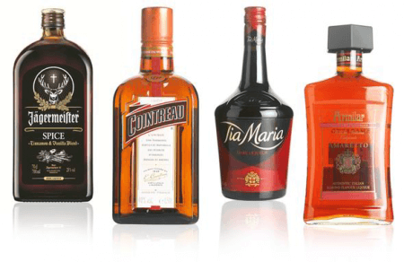 Types of liqueur