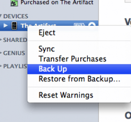 Difference between a Sync and Backup