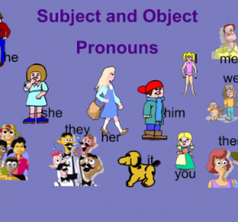 Difference between Subject and Object Pronouns