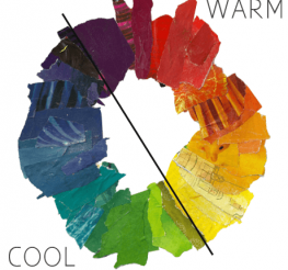Difference between Warm and Cool Colors