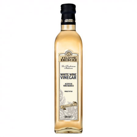 bottle of white wine vinegar