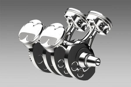 components of a V4 engine