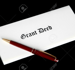 Difference between Grant Deed and Deed of Trust