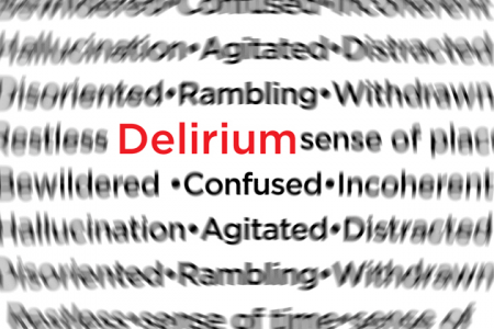 Delirium depicted