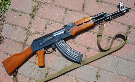 A Type 56 rifle