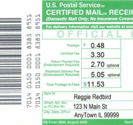 Difference between Certified and Registered Mail