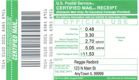 Certified Vs Registered Mail Difference