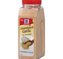 Difference between Granulated Garlic and Garlic Powder