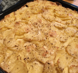 Difference between Scalloped Potatoes and Au Gratin Potatoes