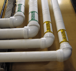 Difference between PVC pipe and CPVC pipe