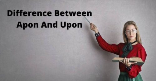 Difference between Upon and Apon