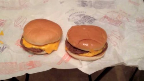 Double Cheeseburger and McDouble